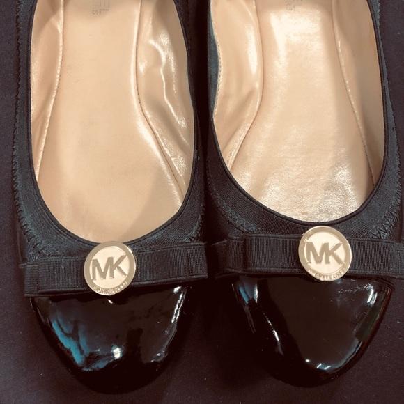 4754a17eb MICHAEL Michael Kors Shoes - MK- Women's Dixie Patent Leather Ballet Flats